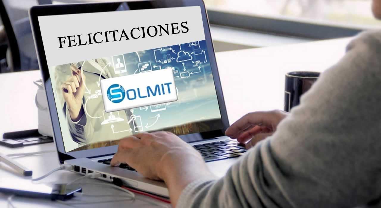 Felicitaciones Solmit